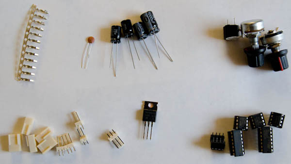Surf PI 1.2 Capacitors and Assorted Components